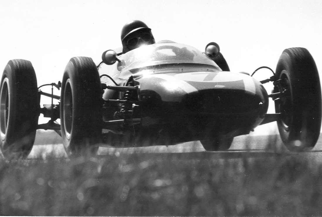 Scene from 1964 GP of Holland (Photo by Robert Daly)