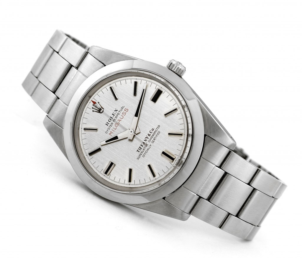 Ref. 1019 with rare double-signed Tiffany Dial (Image from AQ)