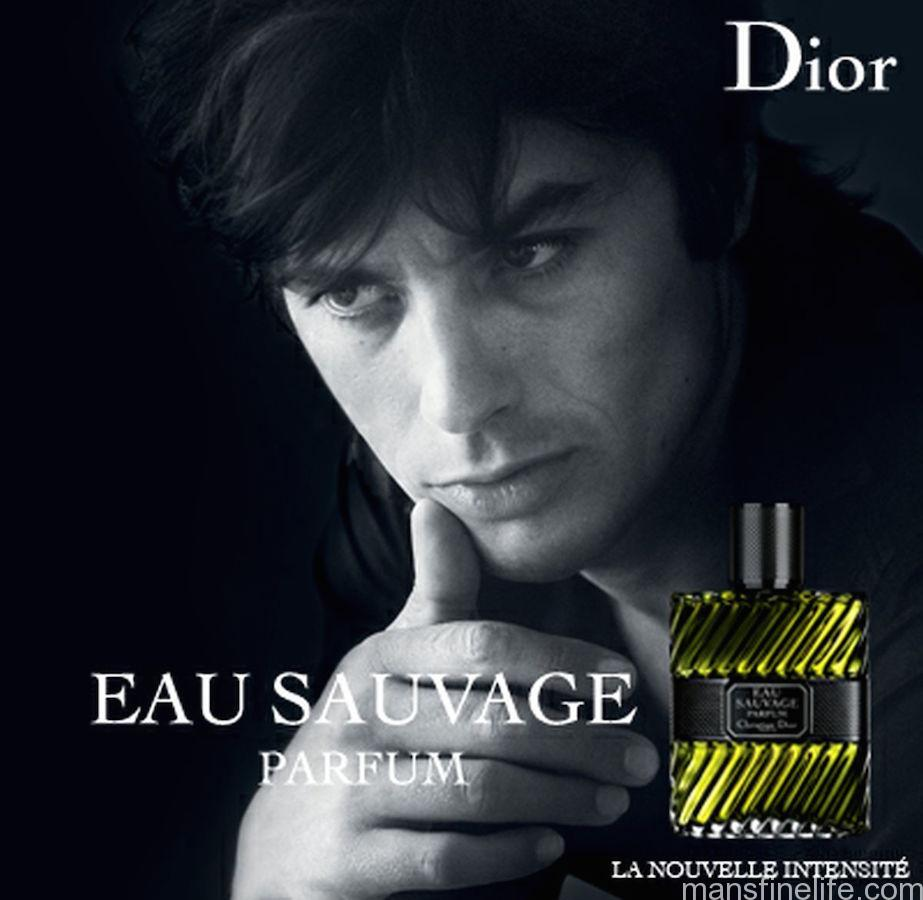 Alain Delon of the past helps sell Dior's new Eau Sauvage Parfum today